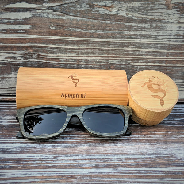 Polarized Dark Bamboo Sunglasses