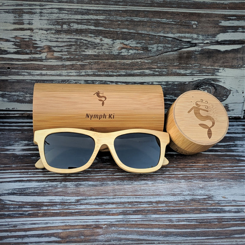 Polarized Light Bamboo Sunglasses