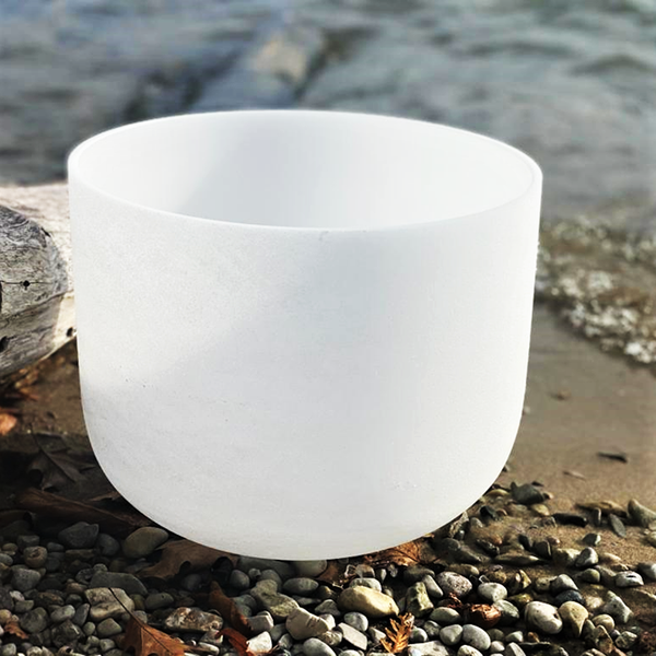 Quartz Crystal Singing Bowls 8 Inch