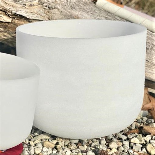 Quartz Crystal Singing Bowls 11 Inch