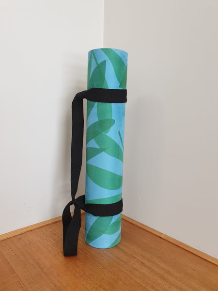 Luxury Eco Yoga Mat - Summer Leaves