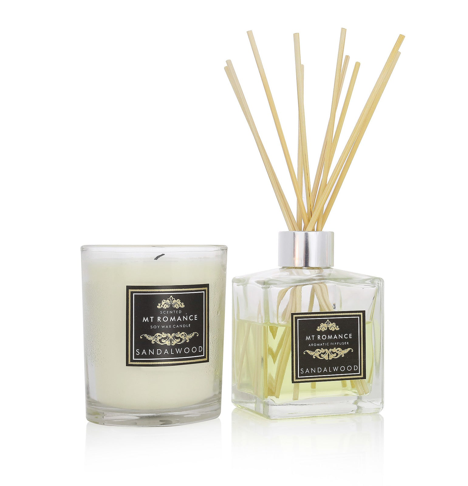 Reed Diffuser & Candle Set