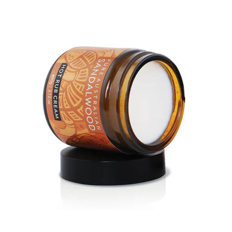 Sandalwood Hot Rub 60g Mt Romance