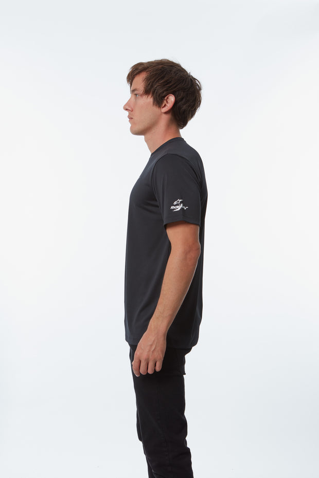 TECH AGELESS PERFORMANCE TEE BLACK
