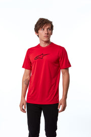 TECH AGELESS PERFORMANCE TEE RED