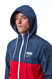 CRUISER WINDBREAKER NAVY-RED