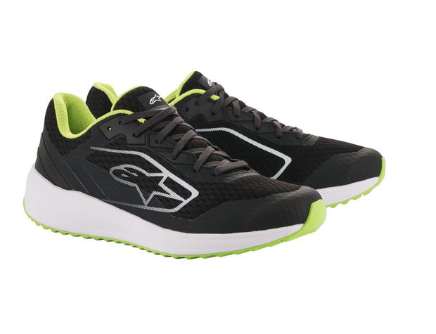 META ROAD SHOES BLK/WHITE GREEN-163