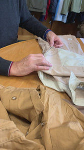 Detailing the new and improve Atlantic Rancher Essex Marsh Shirt for 2020 production