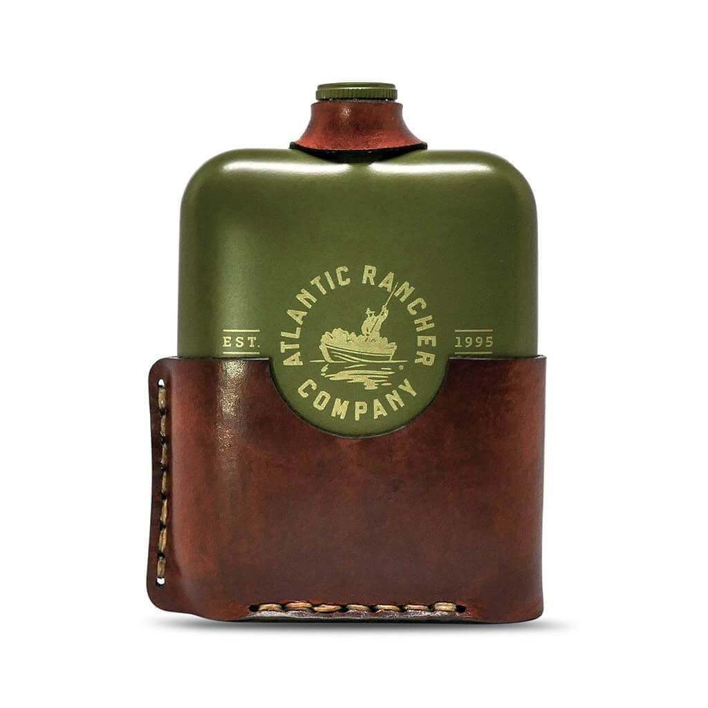 Buy The AR Leather Wrapped Marsh Flask