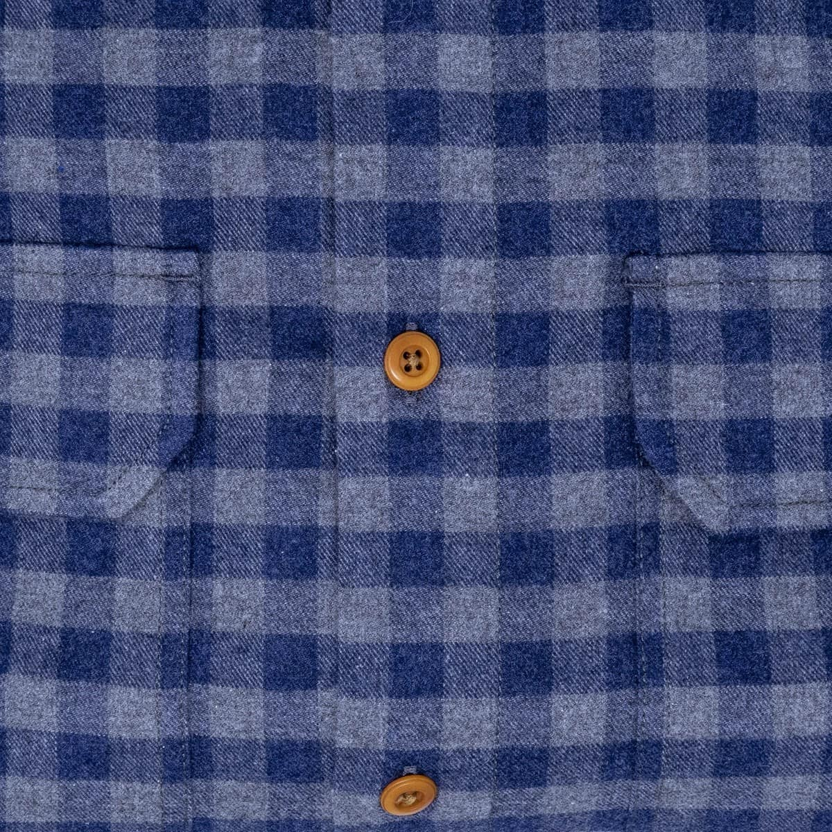 Buy The Bayman's Flannel Shirt- Blue/Gray