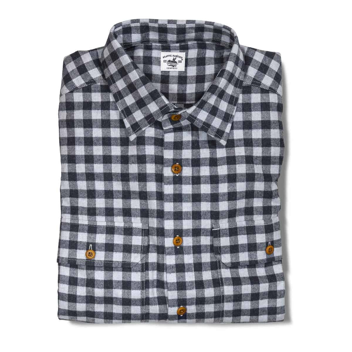 Buy The Bayman's Flannel Shirt - Blue