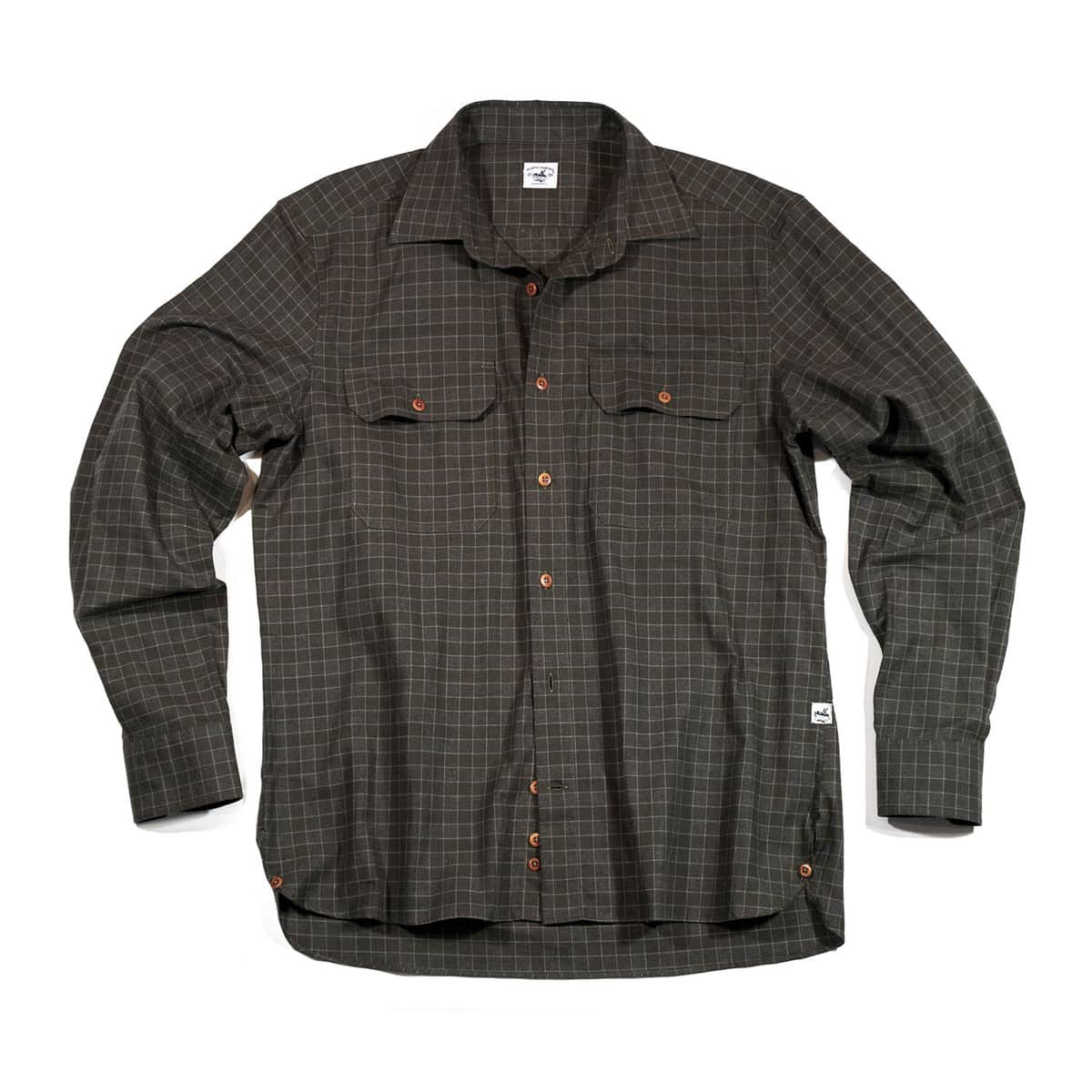 Buy The Bayman's Flannel Shirt - Brown