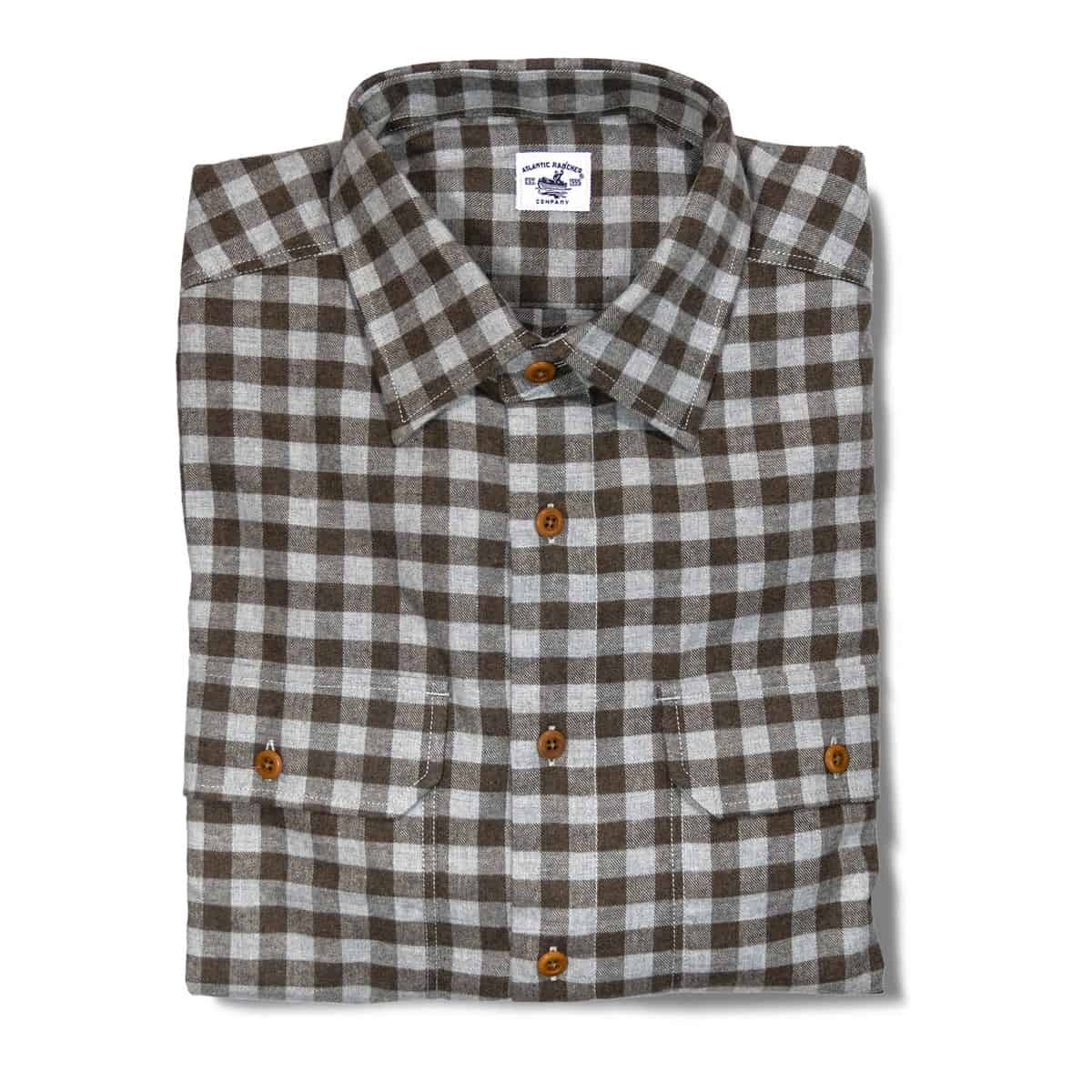 Buy The Bayman's Flannel Shirt - Caramel