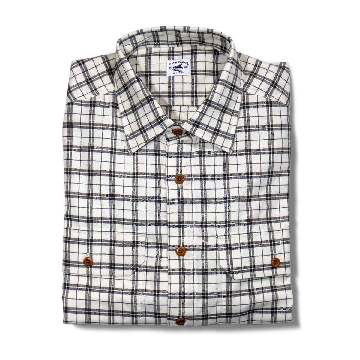 Buy The Bayman's Flannel Shirt - Cream Caramel