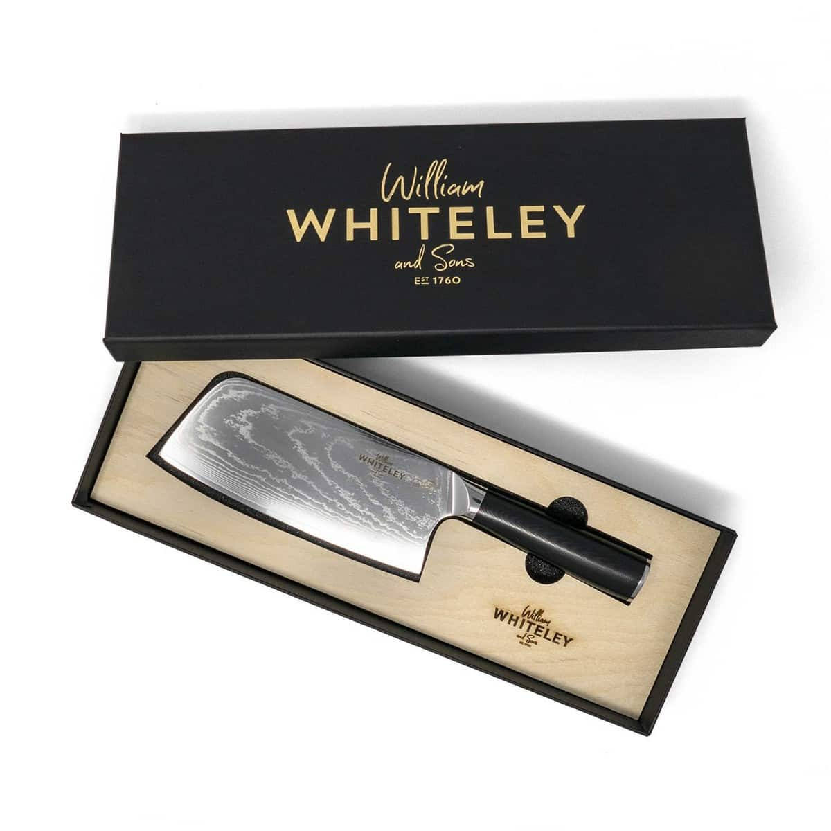 Buy The Damascus Cleaver Knife from William Whiteley