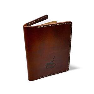Atlantic Rancher Leather Logbook Case Leather Goods Coal Creek