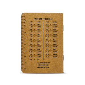 Atlantic Rancher Logbook Leather Goods Scout Books