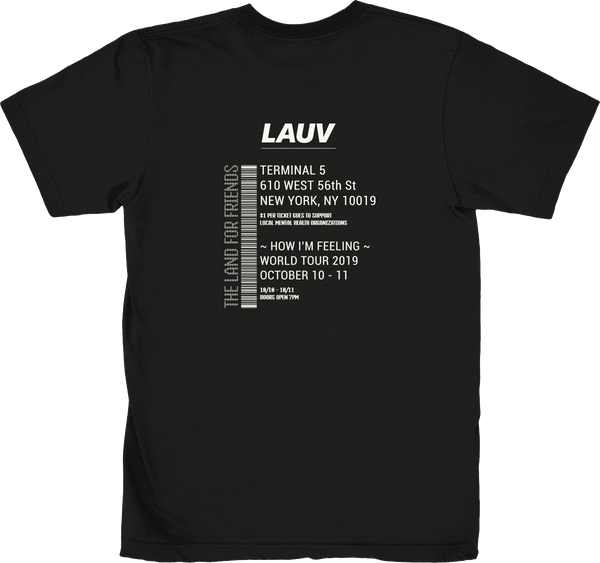 HOW I'M FEELING WORLD TOUR - TICKET TEE