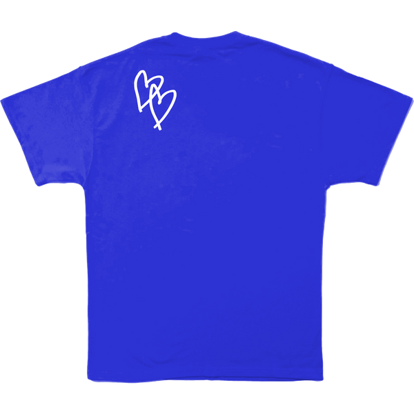 WITHOUT YOU BLUE TEE