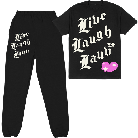 LIVE LAUGH LAUV SET