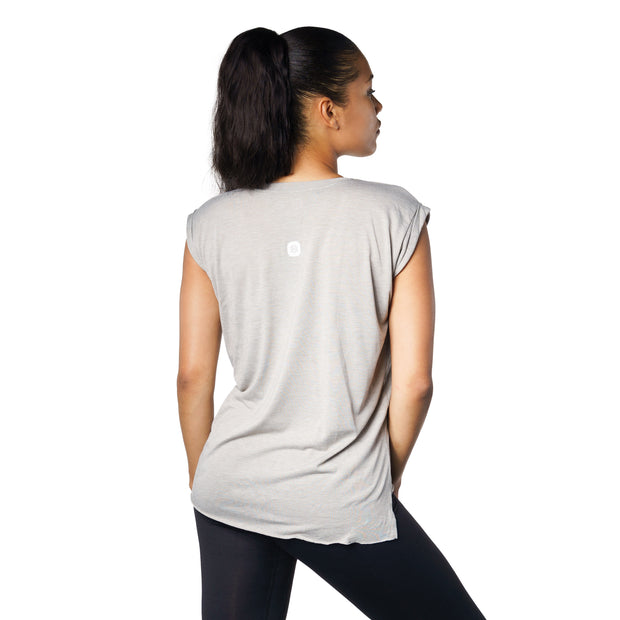 Refine Cuffed Sleeve T-Shirt