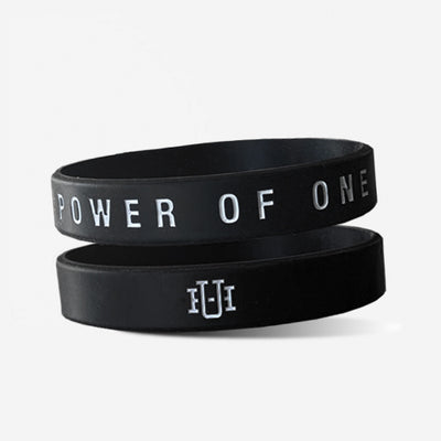 unsung hero power of one silicone bracelet