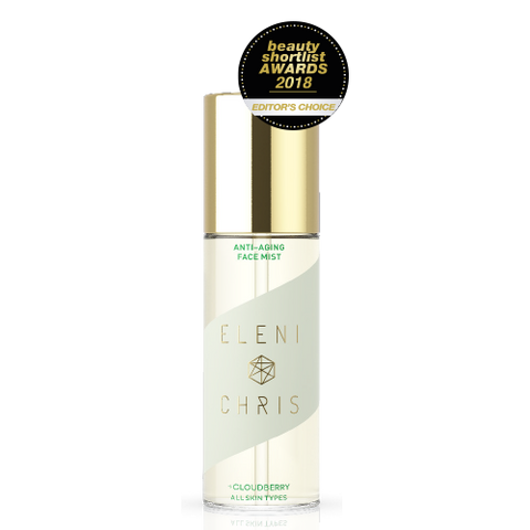 Anti-Aging Face Mist med award badge