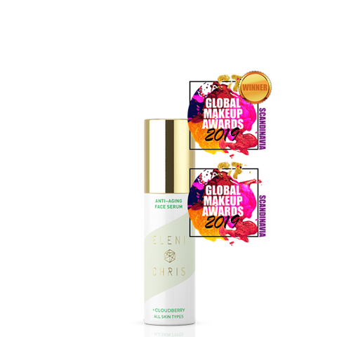 Anti-Aging Face Serum med award badges