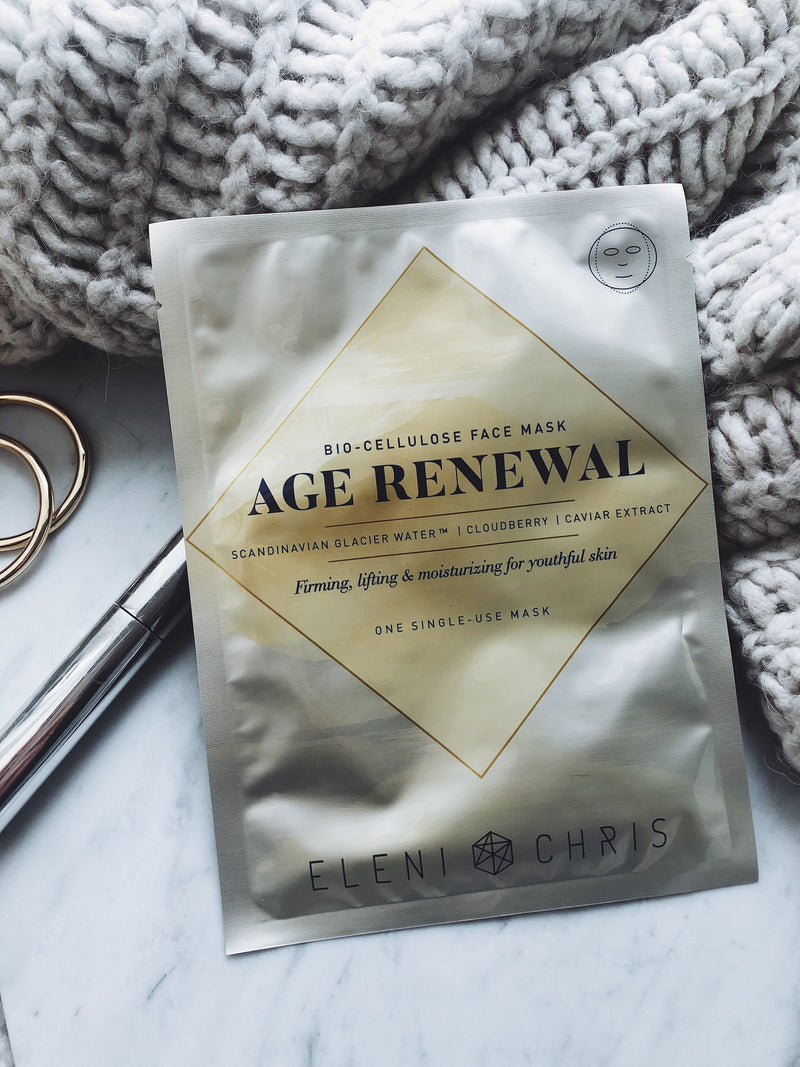 Age Renewal Bio-Cellulose Face Mask Sachet