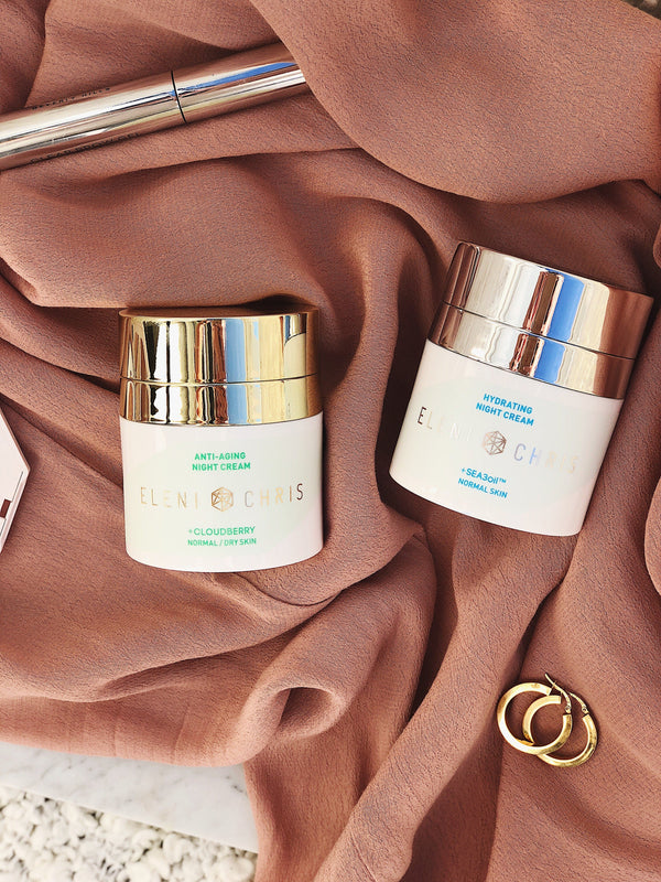 Anti-Aging Night Cream and Hydrating Night Cream