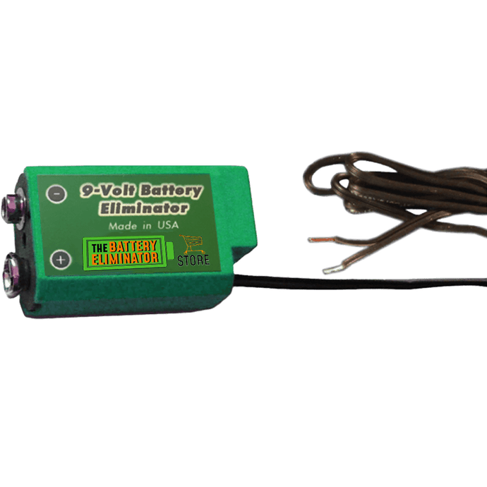 9 Volt Wired/Active Cell - (provides positive and negative terminal access)