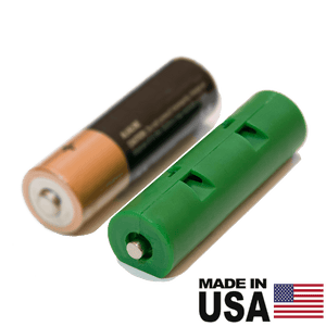 "AA Battery Dummy Shorted Cell - Reduce voltage or complete series circuit - ""fake battery"" - Battery Eliminator Store - Battery Replacement, aa battery to ac power, aaa to ac power, dc power, battery to usb, 9 volt battery to ac power, ac power adapter, 2 aa to ac power, 4 aa to ac power, 3 aaa to ac power, 9v to ac power, ac power supply adapter, cr123a, dummy cell, active cell, battery eliminator, replace battery, eliminate battery, remove battery, convert aa to ac power, 6 aa battery, 2 aa ba"