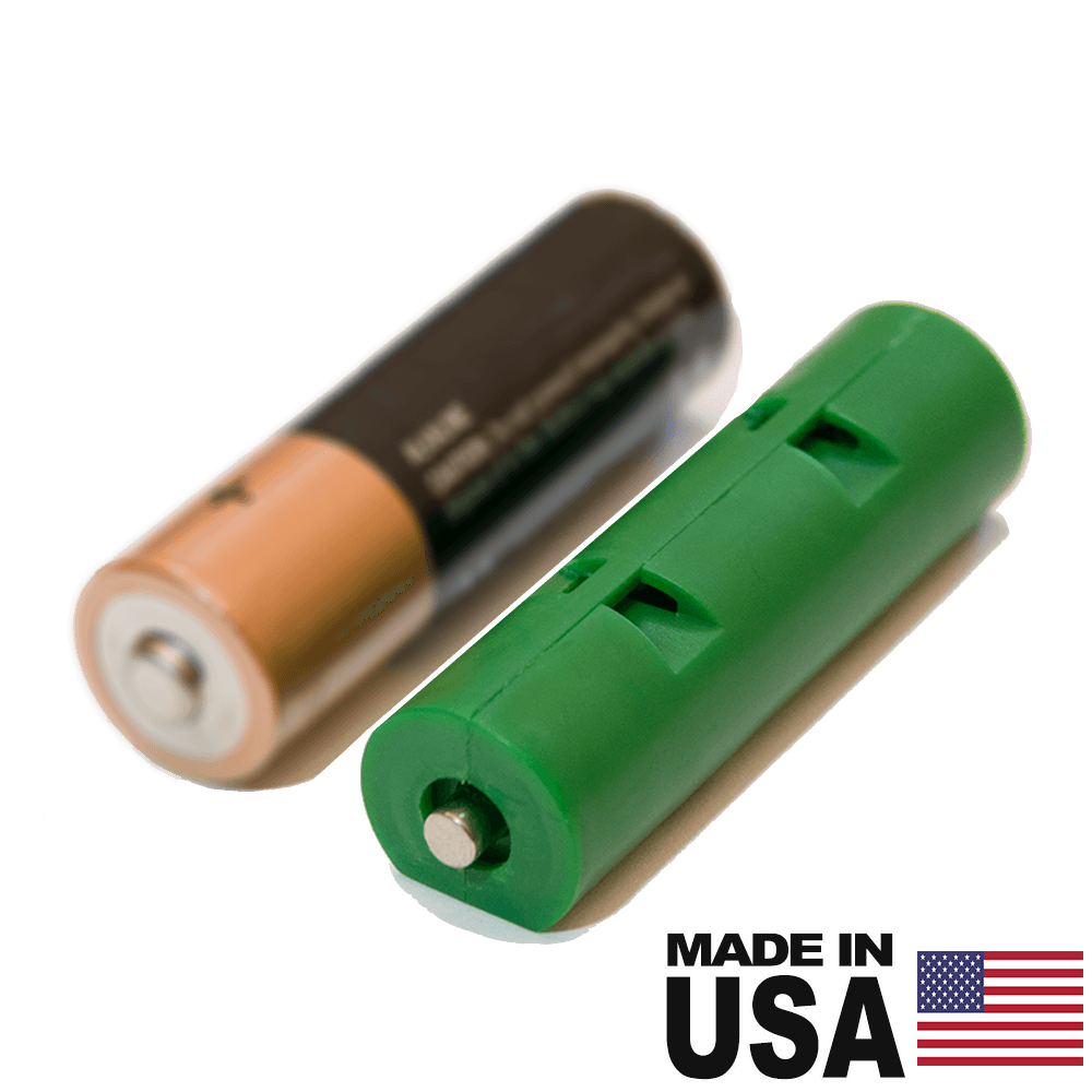 AA Battery Dummy Shorted Cell - Reduce voltage or complete series circuit -
