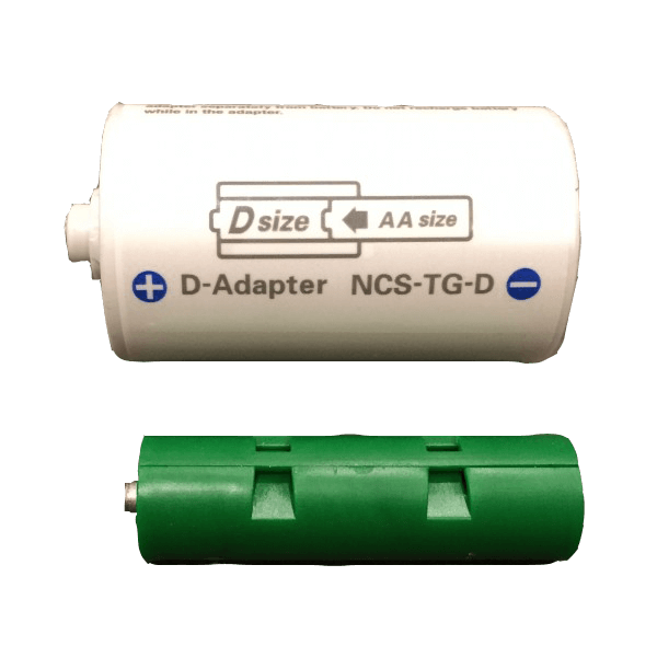 AA to D Adapter - Battery Replacement - Battery Eliminator Store - aa battery eliminator, battery eliminator store, 9 volt battery eliminator, d cell battery eliminator, 9v battery eliminator, aaa battery eliminator, usb battery eliminator, replace 4 aa batteries with ac adapter, d battery eliminator, dummy aa battery with leads, aa battery eliminator power adapter, 9 volt battery adapter