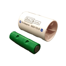 Load image into Gallery viewer, 4 D or 4 AA Cells, 6VDC - AC Power - D/AA Eliminator - Battery Replacement - Battery Eliminator Store - aa battery eliminator, battery eliminator store, 9 volt battery eliminator, d cell battery eliminator, 9v battery eliminator, aaa battery eliminator, usb battery eliminator, replace 4 aa batteries with ac adapter, d battery eliminator, dummy aa battery with leads, aa battery eliminator power adapter, 9 volt battery adapter