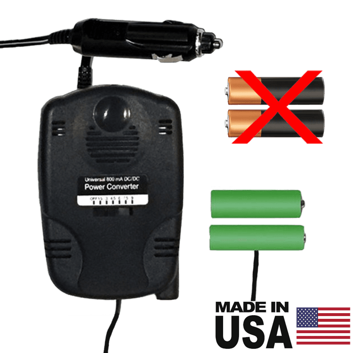 2 AA Battery Eliminator - 3 Volts - 12 Volts DC Powered - Battery Replacement - Battery Eliminator Store - aa battery eliminator, battery eliminator store, 9 volt battery eliminator, d cell battery eliminator, 9v battery eliminator, aaa battery eliminator, usb battery eliminator, replace 4 aa batteries with ac adapter, d battery eliminator, dummy aa battery with leads, aa battery eliminator power adapter, 9 volt battery adapter