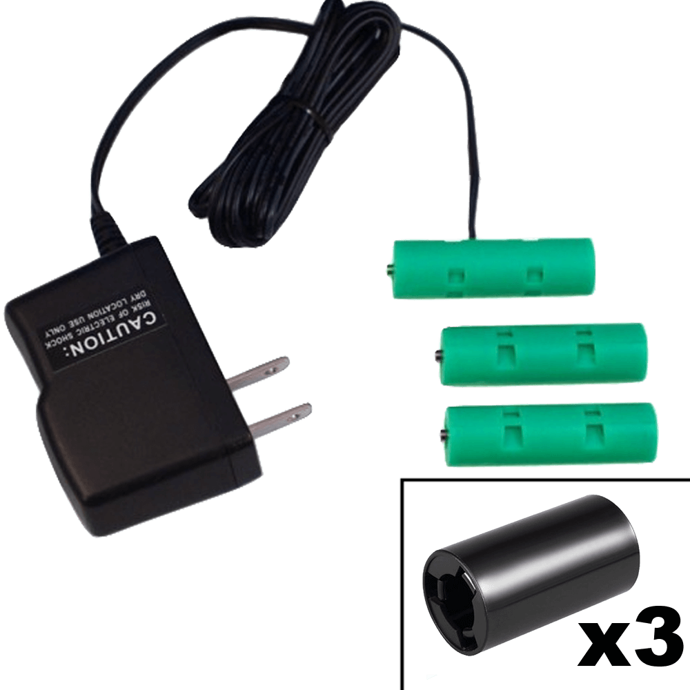 3 C or 3 AA Cells, 4.5VDC - AC Power Source - C/AA Eliminator - Battery Replacement - Battery Eliminator Store - aa battery eliminator, battery eliminator store, 9 volt battery eliminator, d cell battery eliminator, 9v battery eliminator, aaa battery eliminator, usb battery eliminator, replace 4 aa batteries with ac adapter, d battery eliminator, dummy aa battery with leads, aa battery eliminator power adapter, 9 volt battery adapter