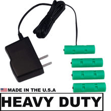Load image into Gallery viewer, 4 AA Cell, 6VDC - Heavy Duty, AC Source - Battery Eliminator - Battery Replacement - Battery Eliminator Store - aa battery eliminator, battery eliminator store, 9 volt battery eliminator, d cell battery eliminator, 9v battery eliminator, aaa battery eliminator, usb battery eliminator, replace 4 aa batteries with ac adapter, d battery eliminator, dummy aa battery with leads, aa battery eliminator power adapter, 9 volt battery adapter Edit alt text  Edit alt text