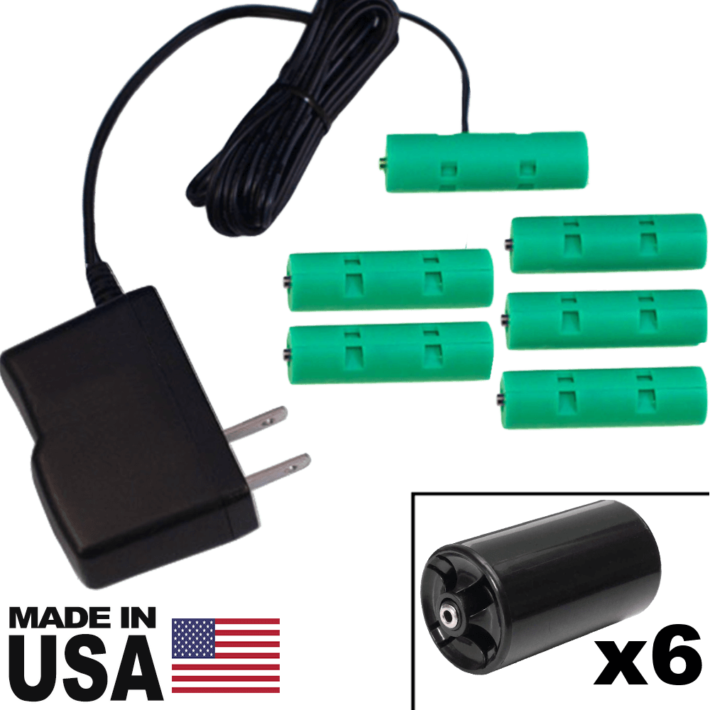6 D or 6 AA Battery Eliminator Kit - 9 Volts, 1A - AC Powered - Battery Eliminator Store - Battery Replacement, aa battery to ac power, aaa to ac power, dc power, battery to usb, 9 volt battery to ac power, ac power adapter, 2 aa to ac power, 4 aa to ac power, 3 aaa to ac power, 9v to ac power, ac power supply adapter, cr123a, dummy cell, active cell, battery eliminator, replace battery, eliminate battery, remove battery, convert aa to ac power, 6 aa battery, 2 aa battery, 4 aa battery, 9 volt a