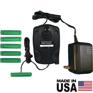 2-6 AAA Battery Eliminator, Adjustable DC Voltage - AC Powered - Battery Eliminator Store - Battery Replacement, aa battery to ac power, aaa to ac power, dc power, battery to usb, 9 volt battery to ac power, ac power adapter, 2 aa to ac power, 4 aa to ac power, 3 aaa to ac power, 9v to ac power, ac power supply adapter, cr123a, dummy cell, active cell, battery eliminator, replace battery, eliminate battery, remove battery, convert aa to ac power, 6 aa battery, 2 aa battery, 4 aa battery, 9 volt