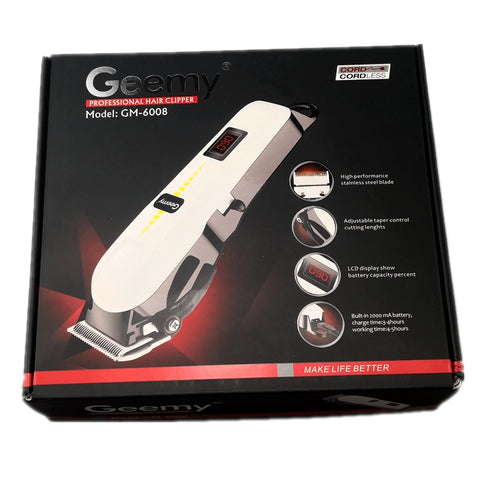 Professional  Hair Clipper Rechargeable