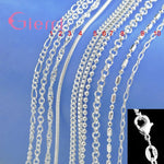 Genuine 925 Sterling Silver Necklace (Variety)