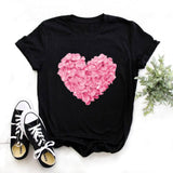 Wildflower Dandelion Print Women's T-shirt