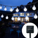 Crystal Ball LED Solar String Lamp