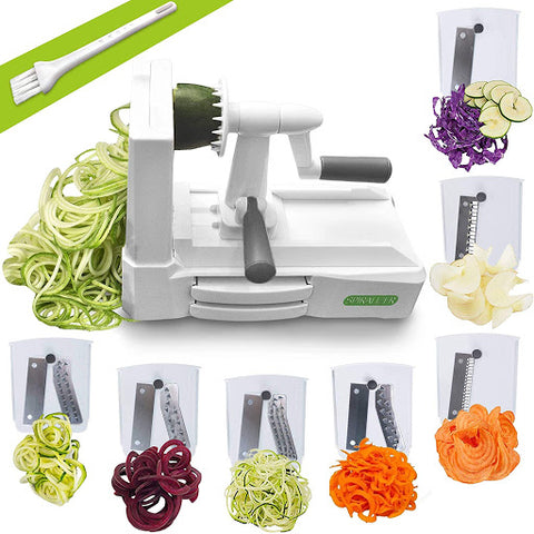 Vegetable slicer, for The Core blog