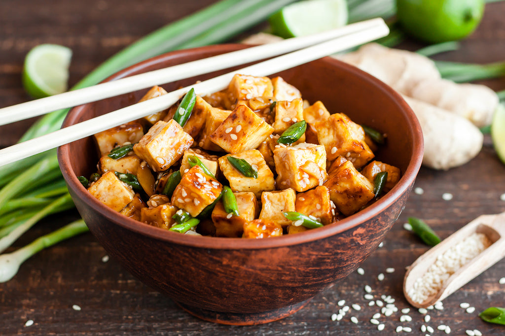 12 Homemade Vegan Chinese Food Recipes We're Drooling Over