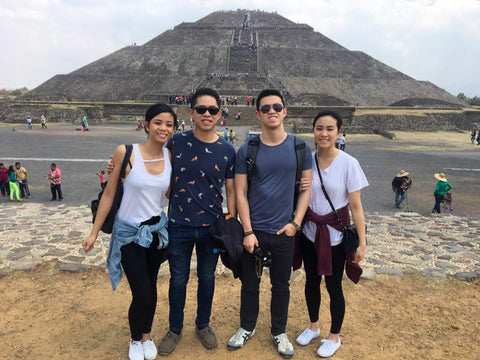 Teotihuacan Pyramids with the Girlfriends