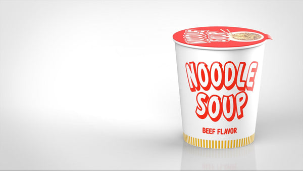 Is Ramen Healthy? Cup of noodle soup