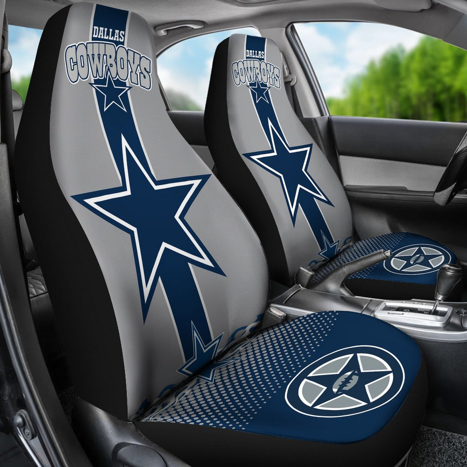 Dallas Cowboys Car Seat Covers Set Of 2