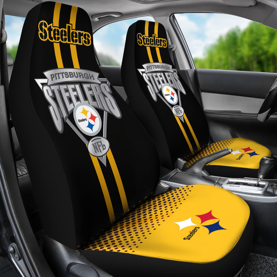 Pittsburgh Steelers Car Seat Covers Set Of 2